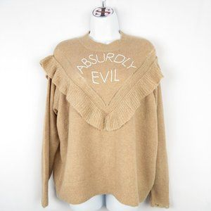 Wildfox Absurdly Evil Super Soft NWT Sweater